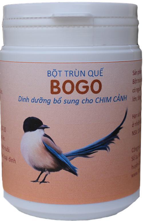Thức ăn bổ sung cho Chim Cảnh và Bồ Câu giúp tăng sức lớn sức sinh sản BOGO hủ 50 gam