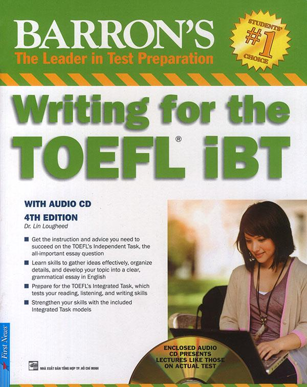 Barron's Writing for the TOEFL iBT - 4th edition (kèm 1 CD)