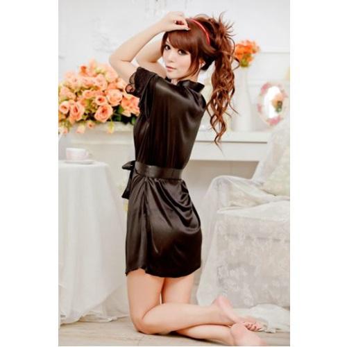 Áo choàng mặc ngủ satin - DN033