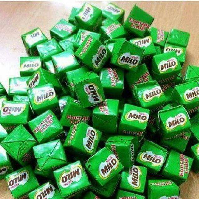 Kẹo viên Milo + milk cube 100viên