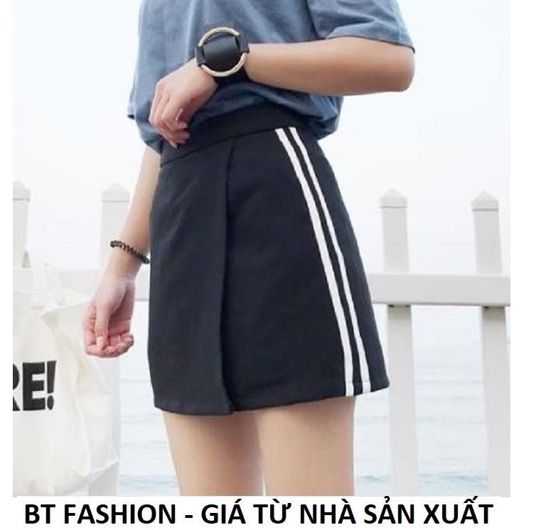 Quần Sọt Đùi Nữ Giả Váy Thời Trang Hàn Quốc Mới - BT Fashion (VA02-2S)