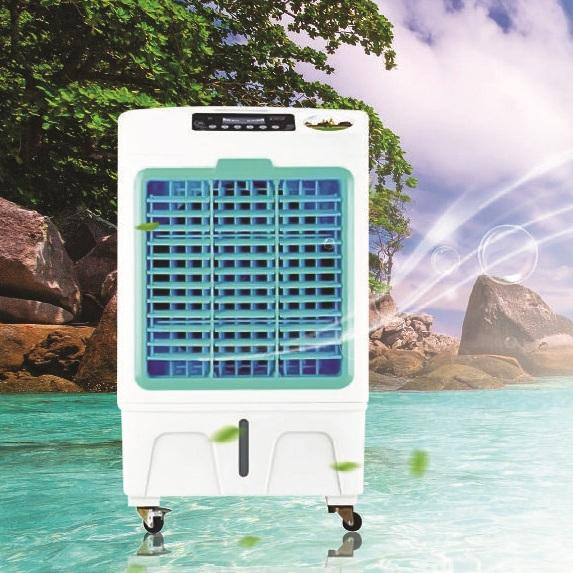 [XẢ KHO 3 NGÀY] (30-40m2) Quạt điều hòa không khí AKYO Model E-4000, Made in Thái Lan, tem cào bảo hành điện tử, Quạt điều hòa, Điều hòa không khí, Công nghệ mới Inverter, Khử ion âm, Tặng 2 cục đá khô, bảo hành 24 tháng - MQ STORE