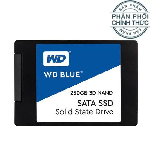 Ổ cứng SSD Western Digital Blue 3D-NAND SATA III 500GB WDS500G2B0A - Hãng Phân Phối Chính Thức