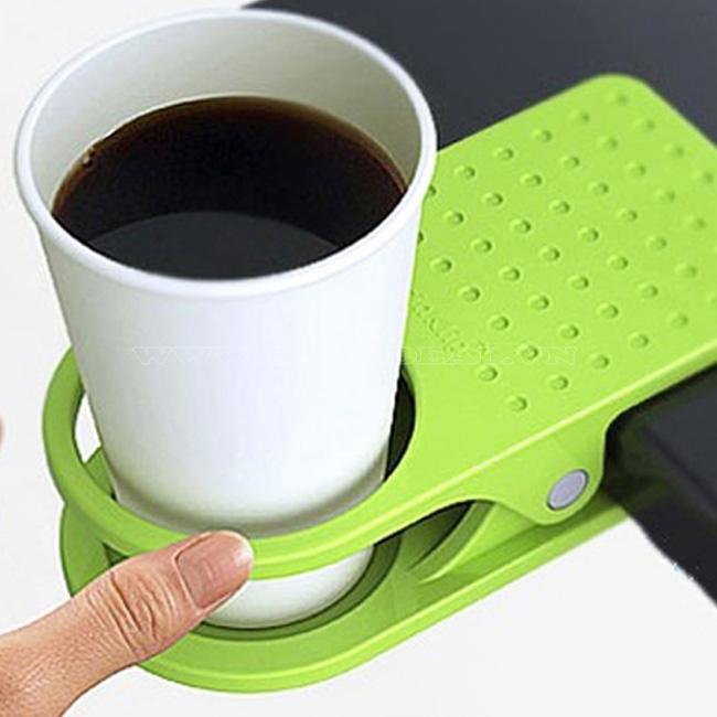 Kẹp để ly tiện dụng cho nhân viên văn phòng