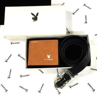 Combo quà tặng ví + thắt lưng P L A Y B O Y thumbnail