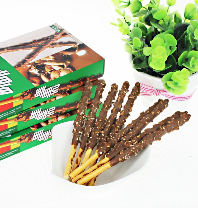 Bánh que Pepero Hạnh nhân Hàn Quốc 36g