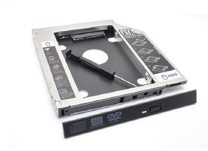 Giảm 29 %】 Caddy Bay 9.5mm SATA 3.0 gắn thêm ổ cứng cho Laptop - VN