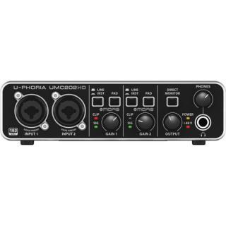 Card âm thanh Behringer U-PHORIA UMC202HD 2-In 2-Out- USB 2.0 Audio Interface thumbnail
