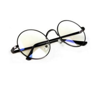 Mắt kính ngố gọng cận Nobita thời trang D (Trắng) thumbnail
