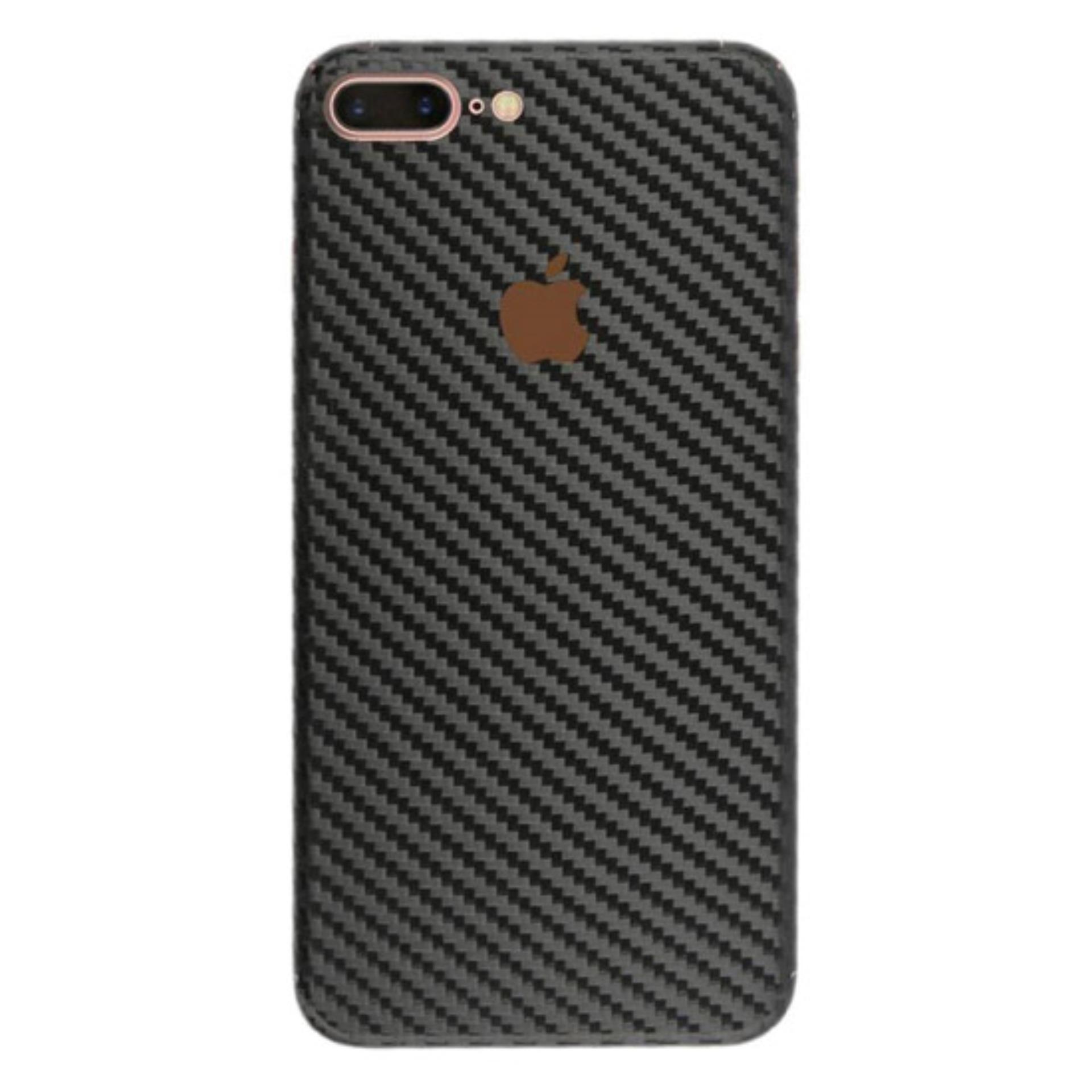 Miếng dán mặt sau vân Carbon cho Iphone 7 Plus - Trong suốt