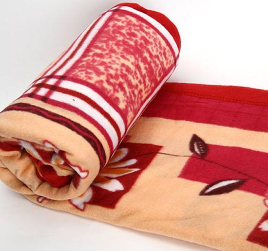 Chăn mền nỉ (160x200cm), mền ngủ trưa văn phòng, mền đi phượt - men van phong - men di phuot