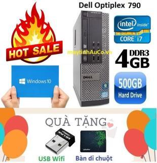 Máy tính đồng bộ Dell Optiplex 790 Core i7 2600 4G 500G - Tặng USB Wifi , Bàn di chuột , Bảo hành 24 tháng thumbnail