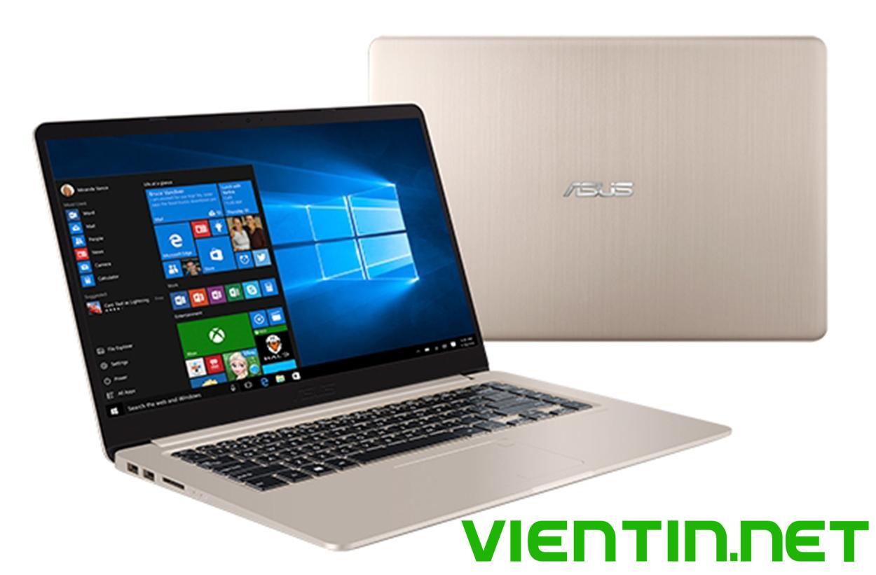 Laptop ASUS VIVOBOOK S15 S510UQ-BQ321T Core i5-7200U, DDR4 4GB, HDD 1TB, FULL HD 15.6 inch, VGA 940MX, Win 10 - Hãng phân phối chính thức