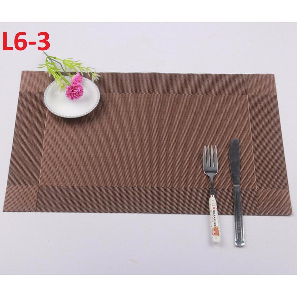 Combo 4 miếng lót bàn ăn L6