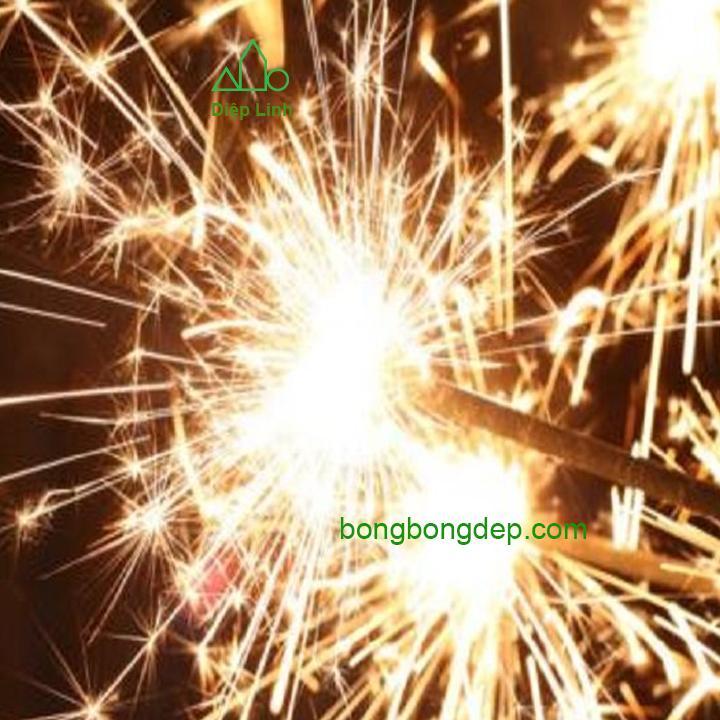 10 pháo bông que dài 30cm cầm tay phụ kiện trang trí sinh nhật, sự kiện - Diệp Linh