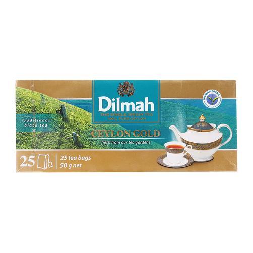 Trà Ceylon Gold Dilmah hộp 25 gói x 2g