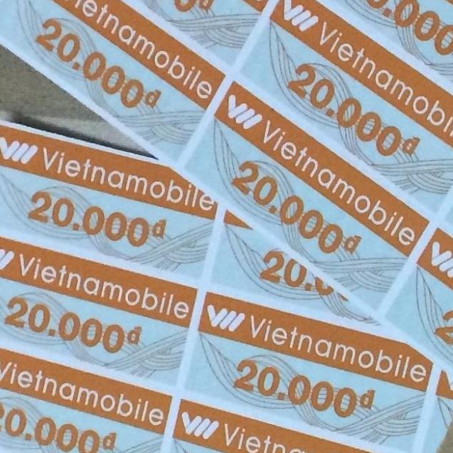 Thẻ cào 20k nạp Thánh Sim Vietnamobile - shop 2K