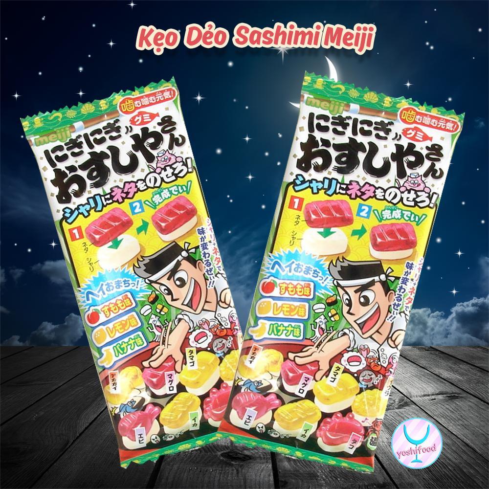 Kẹo Dẻo Meiji Làm Sashimi