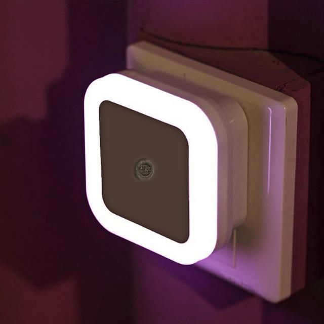ĐỒNG GIÁ Đèn phòng ngủ LED cảm ứng treo tường, Bóng đèn phòng ngủ LED cảm ứng treo tường, Đèn ngủ tự động cảm ứng ánh sáng, Đèn ngủ LED cảm ứng tự động bật tắt theo ngày đêm 1W (màu ngẫu nhiên)