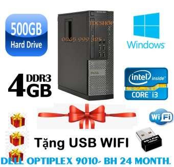 Máy tính để bàn DELL Otiplex 9010 ( Chip core i3 3220, Ram 4gb, ổ cứng 500gb ) Tặng usb wifi, Bảo hành 1 đổi 1 trong 24 tháng