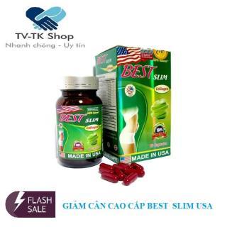 Viên Uống Giảm Cân Best Slim Collagen USA (Lọ 40 Viên) thumbnail