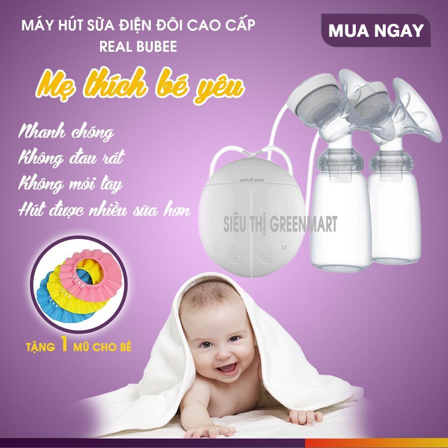 Máy hút sữa điện đôi Real Bubee { HÀNG CHẤT...