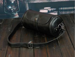 Túi trống thời trang da PU cao cấp, túi đeo chéo thumbnail