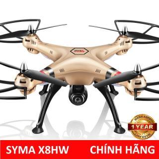 Máy bay điều khiển từ xa SYMA X8HW Camera Full HD FPV tự giữ độ cao, tự động bay về - Tặng thẻ nhớ 4G thumbnail