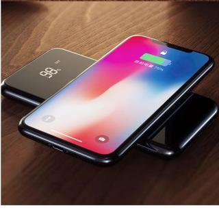 Sạc không dây ABO W10 thông minh chuâ n Qi kiêm pin dự phòng 10000 mAh cho Iphone 8, iphone X,Samsung Galaxy S9, Note8 - Phân phối bởi Vietstore thumbnail
