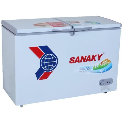 Tủ Đông dàn đồng Sanaky VH-3699W1 (2 Ngăn Đông, Mát 360 Lít)