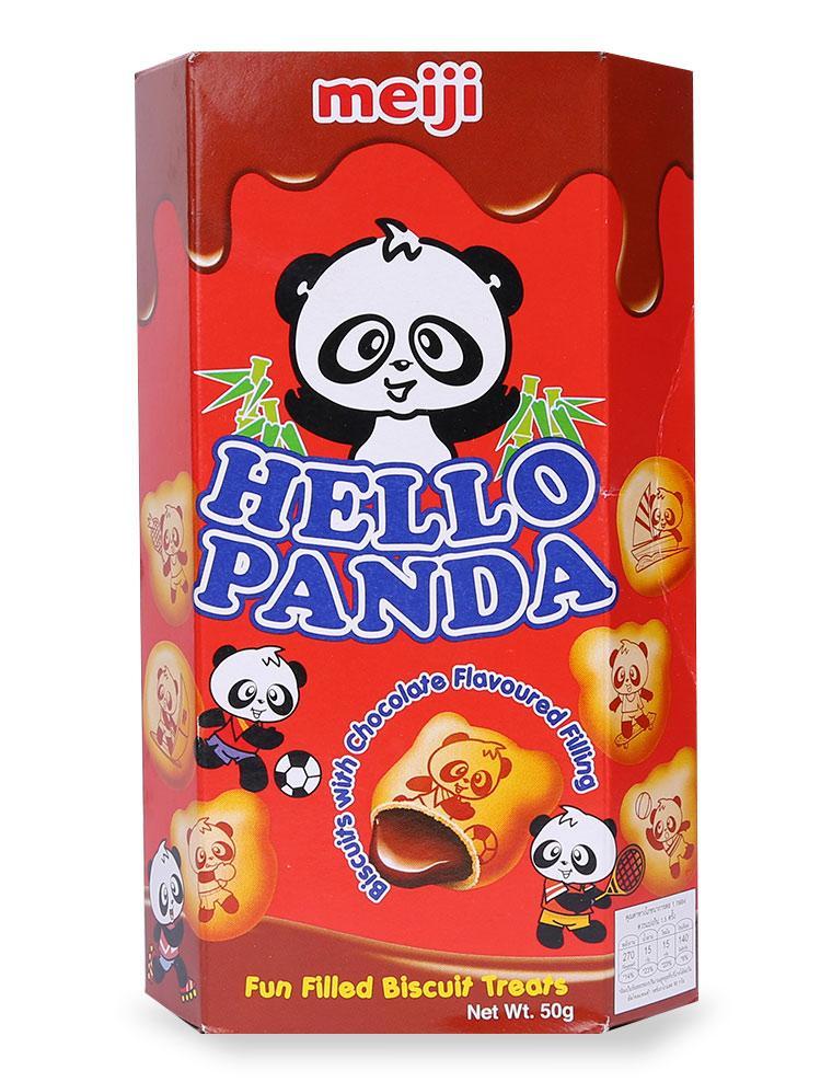 Bánh Meiji Hello Panda Vị Chocolate 50G