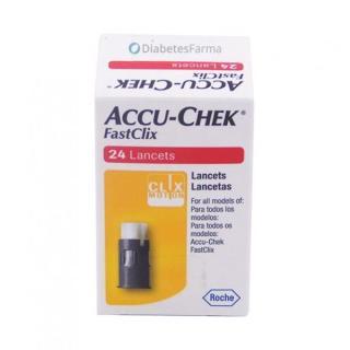 Kim Lấy Máu Accu-chek FastClix - 24 Lancets thumbnail