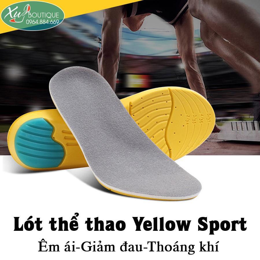 Lót Giày Thể Thao Yellow Sport