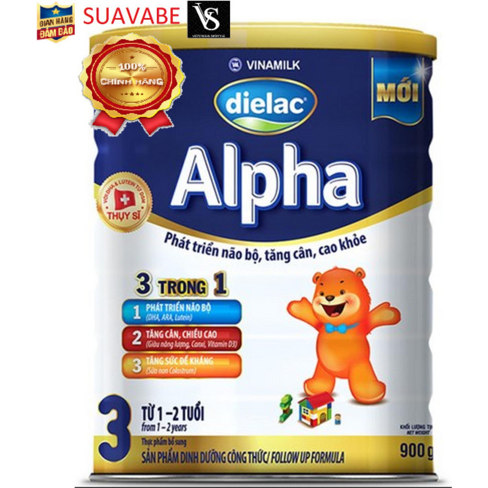 Sữa Dielac Alpha Step 3 - Vinamilk - 900g