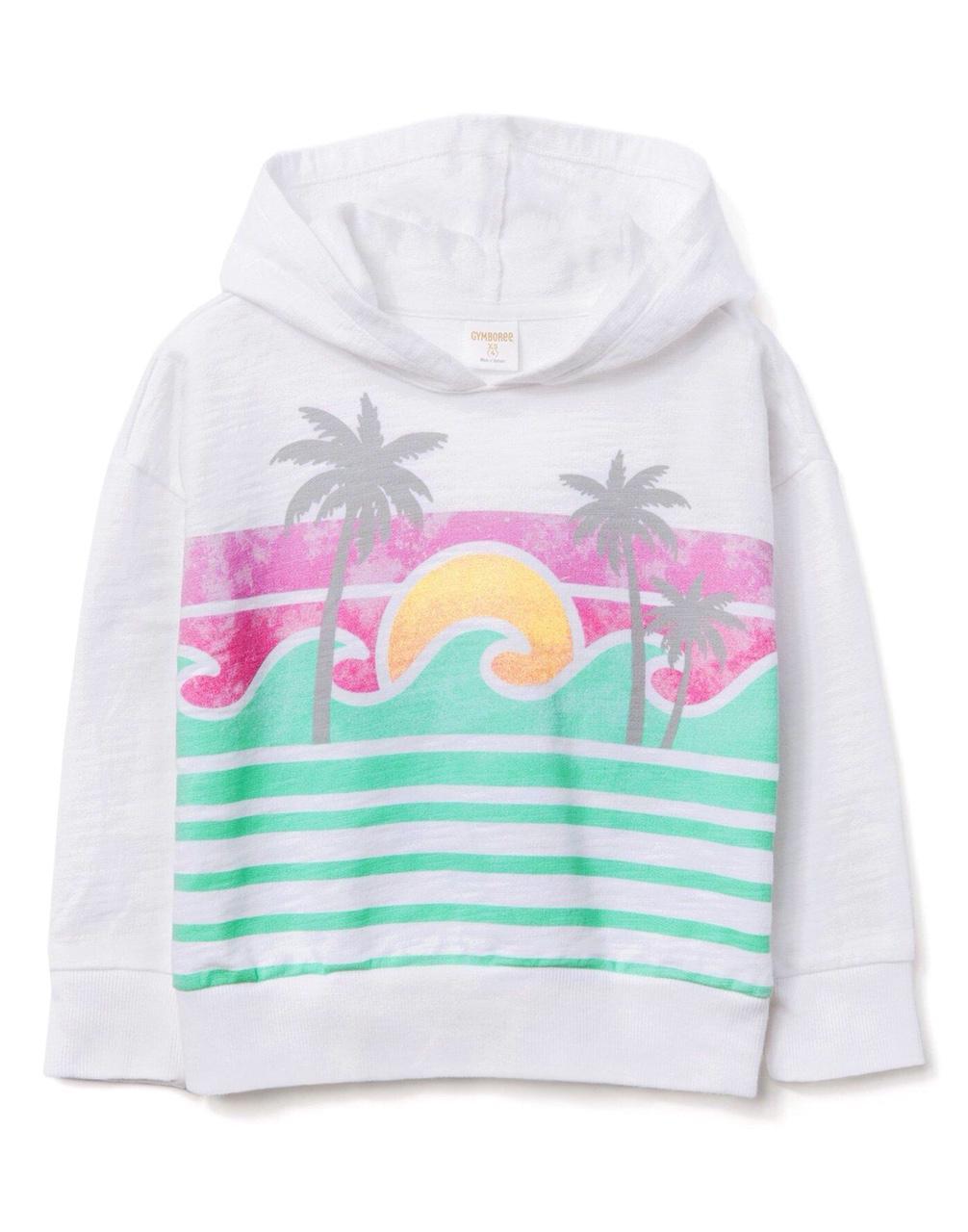Áo hoodie Gymboree bé gái XK