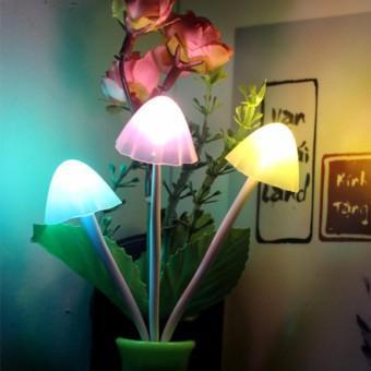 đèn ngủ tự động hình cây nấm loại lớn