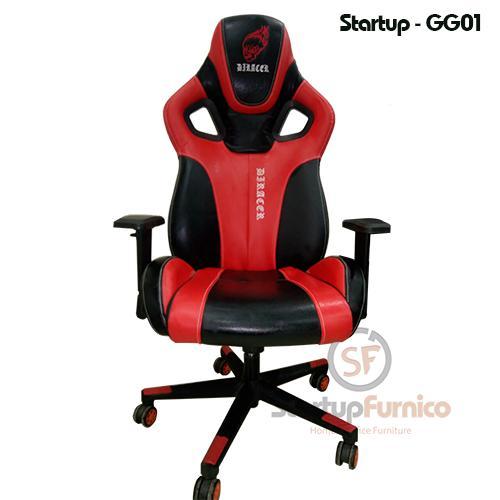 Ghế game thủ Startup GG01 Màu đỏ - Full VAT