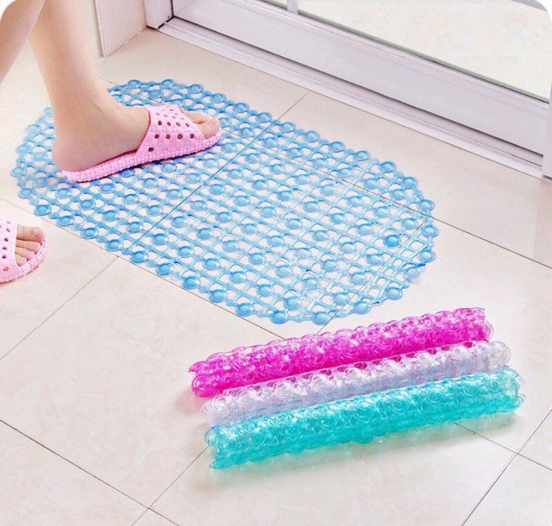 Thảm nhựa chống trượt nhà tắm( Màu hồng- tím)