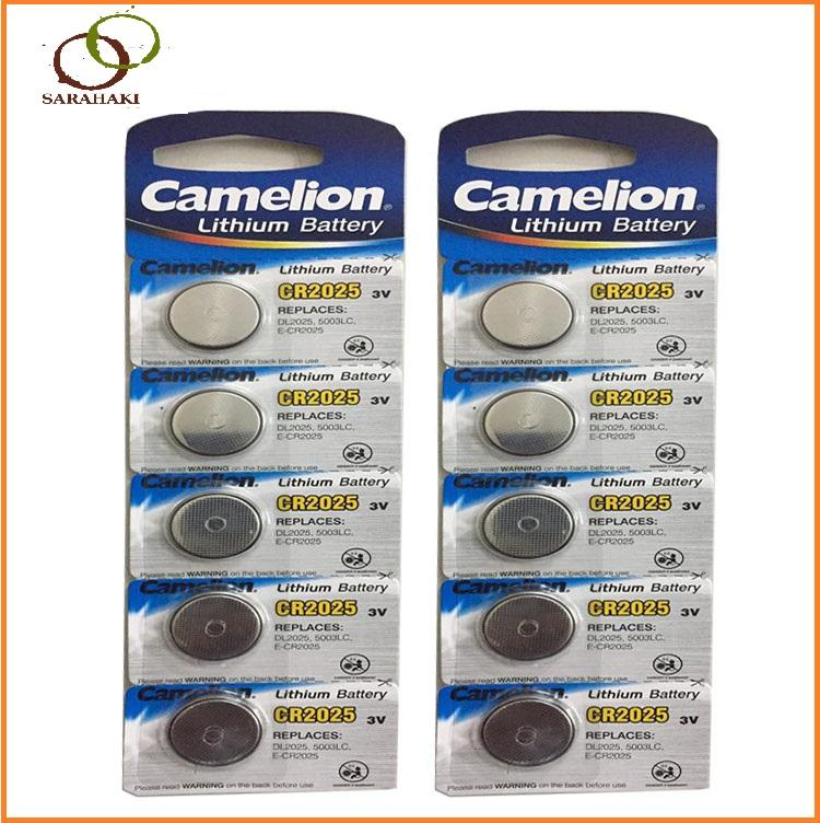Combo 10 viên Pin CR2025 Camelion Lithium 3V
