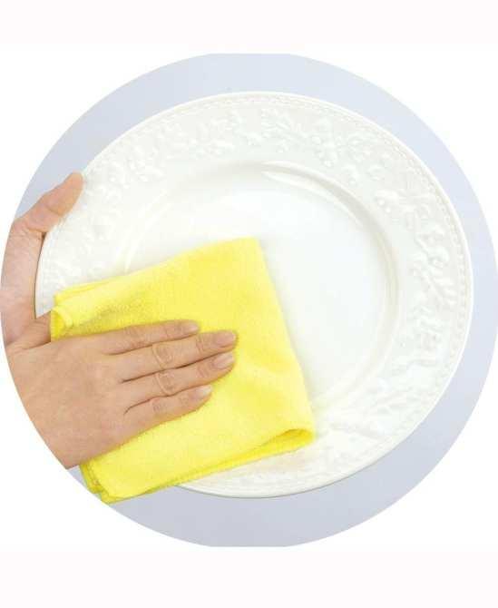 Bộ 10 khăn lau tay, lau chén nhà bếp 22x22cm
