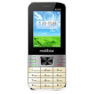 ĐTDĐ Mobiistar B238 (Bạc Vàng)