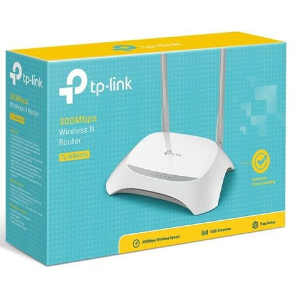 Bộ Phát Wifi TP-Link 842N 2 râu  - hàng mới nguyên seal - chuẩn tốc độ 300 Mbps ( bảo hành 12 tháng )