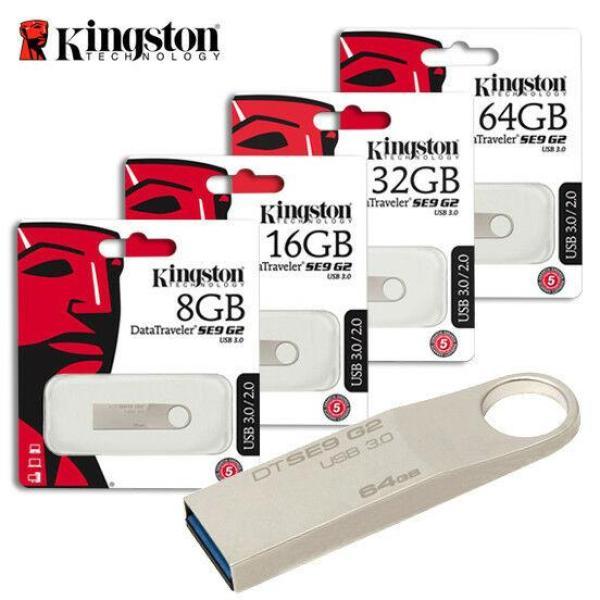 Bảng giá USB 2.0 Kingston DataTraveler SE9 2G / 4G/8G/16G/32G/64G/128G Bảo hành 10 Năm (FPT) Phong Vũ