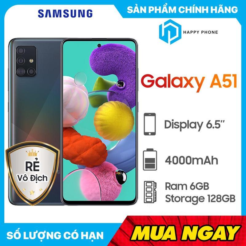 Điện Thoại Samsung Galaxy A51 ROM 128GB RAM 6GB - Hàng mới 100%, Nguyên seal, Bảo hành 12 tháng