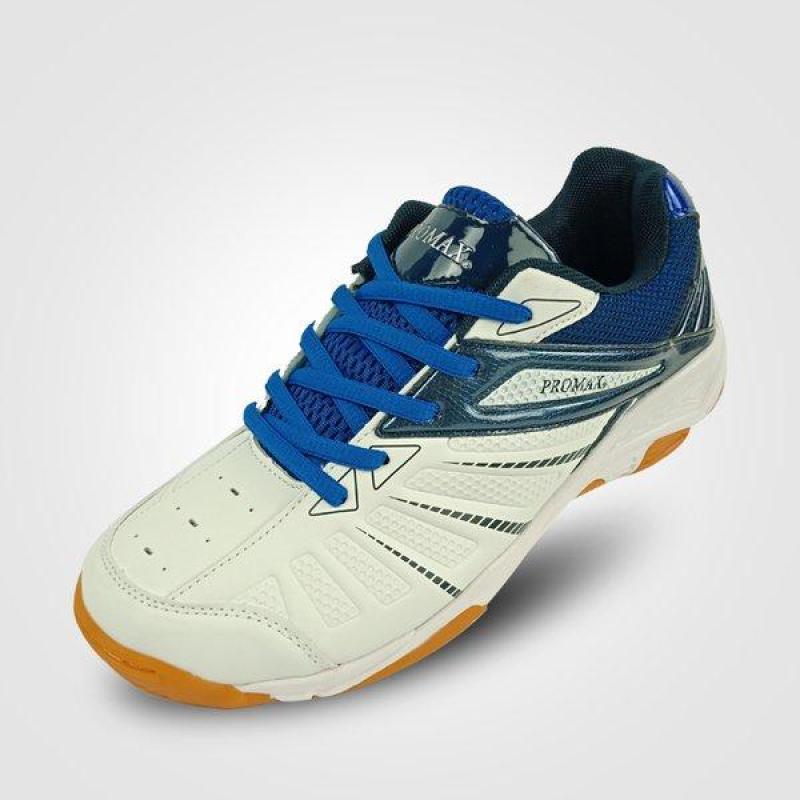 Giày cầu lông - Giày bóng chuyền Promax 19001 Mầu trắng xanh