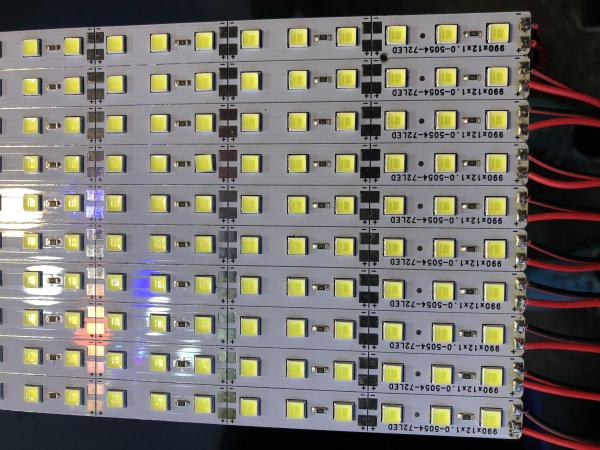 LED thanh 12V, 1m, 5054 (bộ 5 thanh 5m)