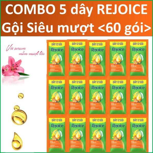 COMBO 5 dây Rejoice Gội Siêu mượt nhập khẩu