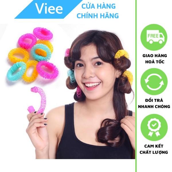 Bộ 8 Lô Lò Xo quấn tóc xoăn Hàn Quốc giá rẻ