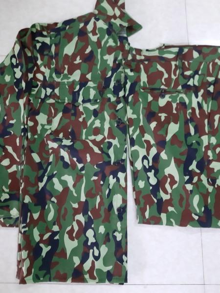 Quần áo rằn ri đặc công (Chất vải kaki, giá thành rẻ, tiện dụng, dễ mặc)