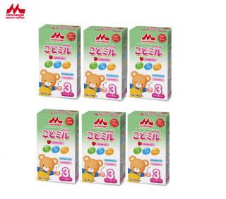 [Flash sale 12-19h 6.6] Combo 6 hộp Sữa Morinaga Số 3 Kodomil 216g hộp Cho Bé Từ 3 Tuổi - Hương dâu date T01.2022 (không tem đổi quà) thumbnail